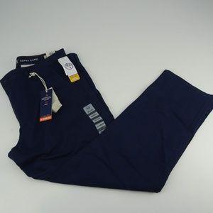 Dockers Men's Athletic Fit Stretch Navy Pants